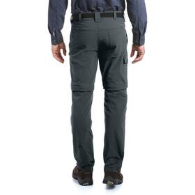 Maier Sports Torid Slim Pantalón Zip-Off Hombre, graphite